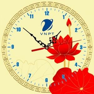 14.Đồng hồ tranh nghệ thuật