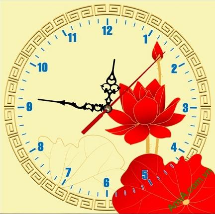 Đồng hồ tranh treo tường nghệ thuật