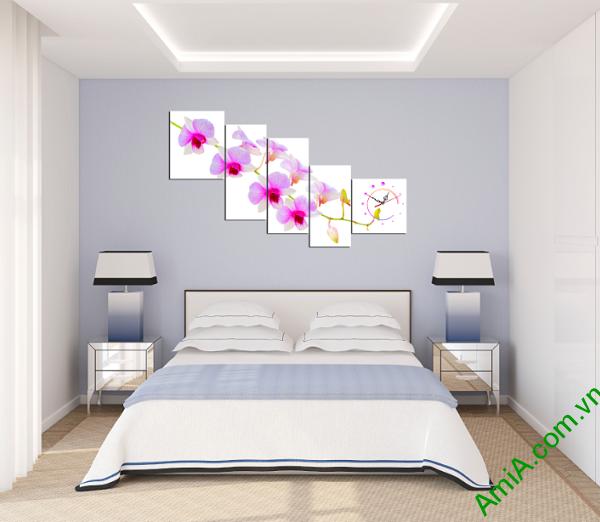 Hình ảnh mẫu tranh treo tường phòng ngủ đẹp