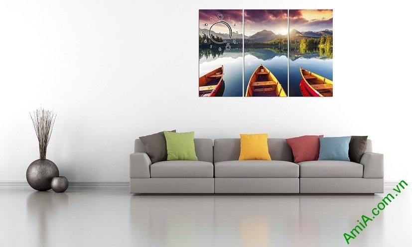 Hình ảnh mẫu tranh đẹp treo tường phòng khách