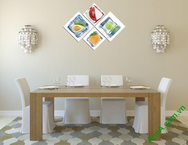 tranh đẹp treo trang trí phòng ăn