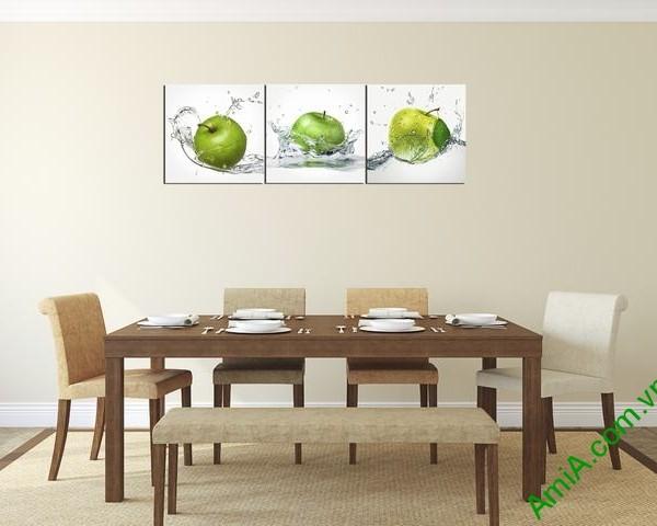 Hình ảnh mẫu tranh treo phòng ăn nhà bếp