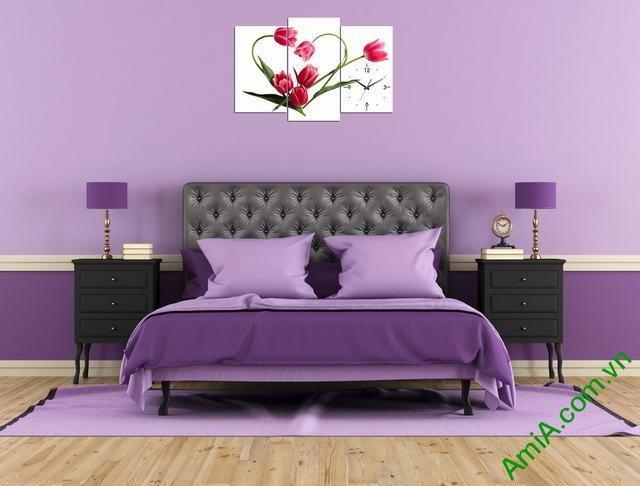 Hình ảnh mẫu tranh phòng ngủ đẹp
