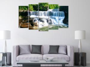 Tranh treo tường phong cảnh thác nước đẹp
