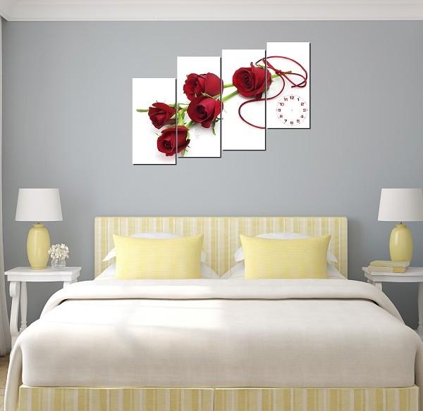 Tranh hoa hồng đẹp và lãng mạn