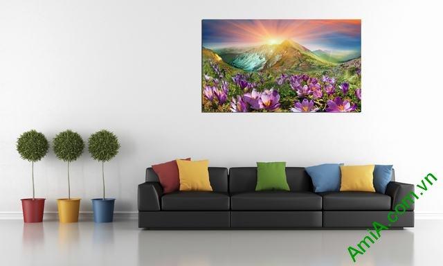 Hình ảnh mẫu tranh phong cảnh cỡ lớn