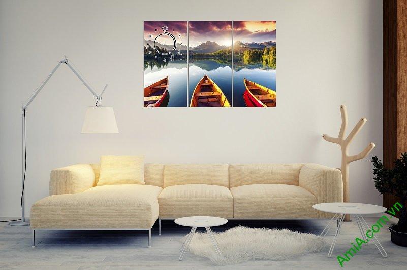 Tranh treo tường đẹp cho phòng khách hiện đại