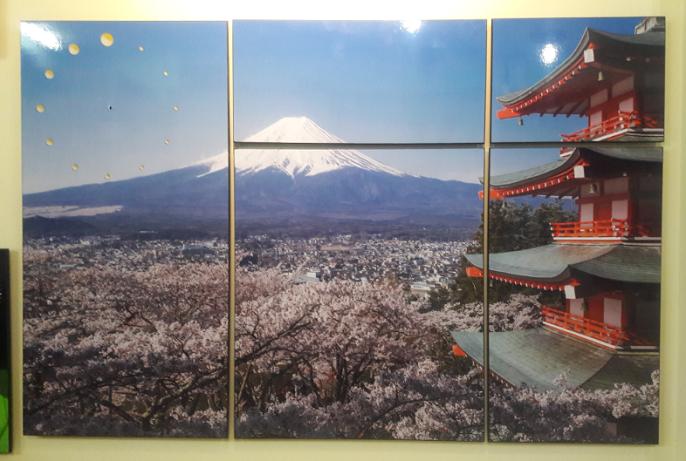 Hình ảnh tranh phong cảnh nhật Bản