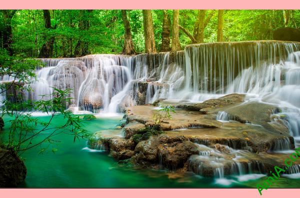Tranh phong cảnh thác nước