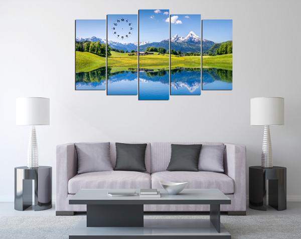 Hình ảnh mẫu tranh phong cảnh thiên nhiên đẹp