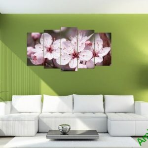 Mẫu tranh hoa đào tết đẹp