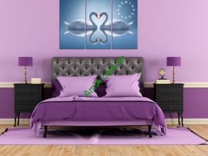 Hình ảnh tranh treo phòng ngủ vợ chồng