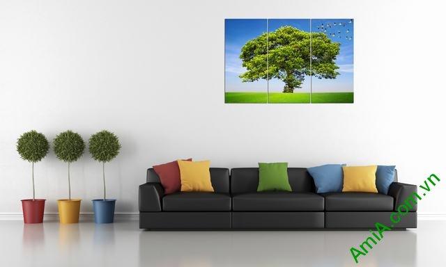 Hình ảnh mẫu tranh treo tường đẹp