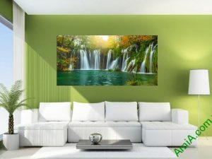 Tranh treo tường phong cảnh thác nước