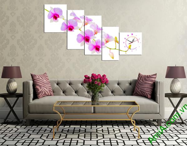Tranh treo tường phòng khách đẹp và sang trọng