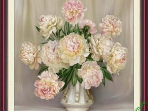 tranh hoa mau don dep va y nghia