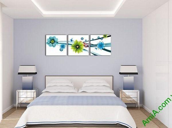 mau tranh phong ngu dep hoa vector ghep bo