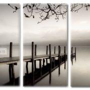 Tranh đơn sắc đen trắng trang trí nội thất sang trọng