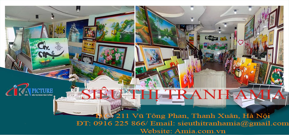 Kết quả hình ảnh cho hình ảnh cửa hàng tranh amia hà nội