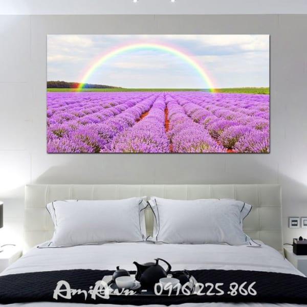 tranh treo tuong hoa oai huong