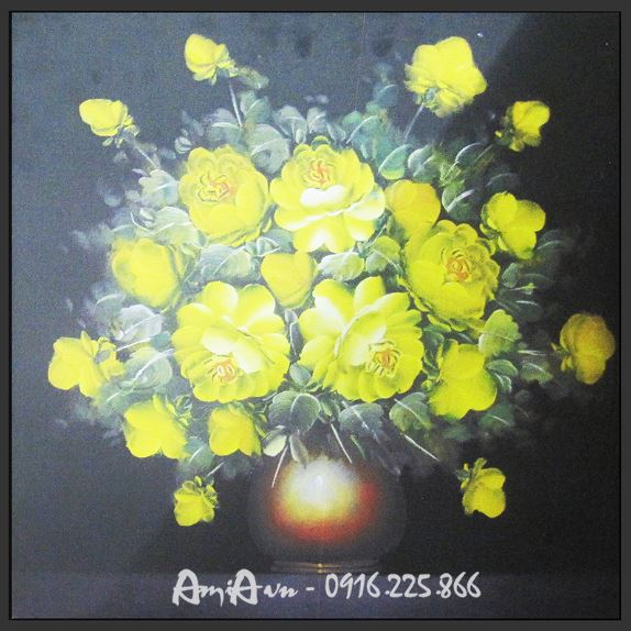 tranh binh hoa dep