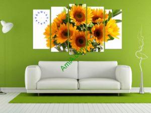 tranh bo hoa huong duong