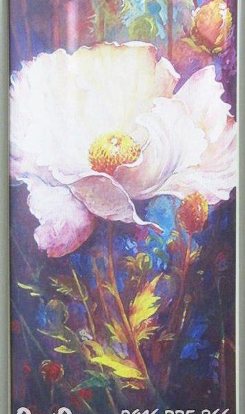 tranh hoa tra in canvas