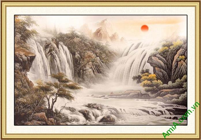 tranh phong canh thuy mac