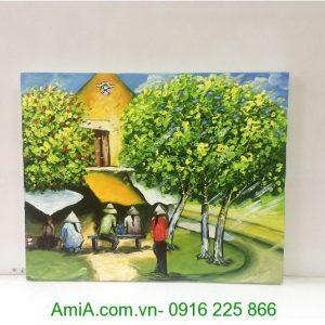 tranh phong canh pho phuong