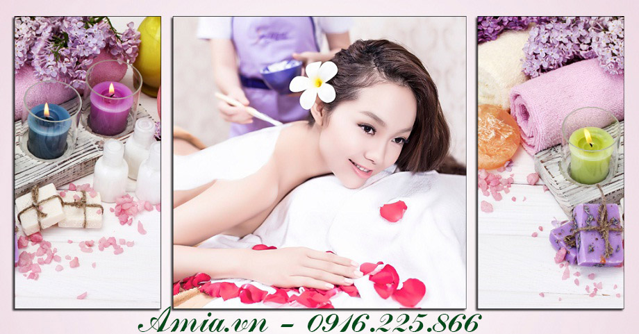 hinh anh moi nhat ve spa voi hinh anh ca si minh hang
