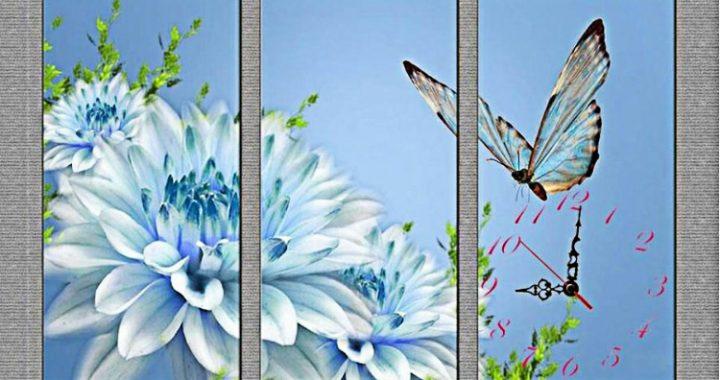 tuong mau xam trang chon tranh hoa thuoc duoc xanh