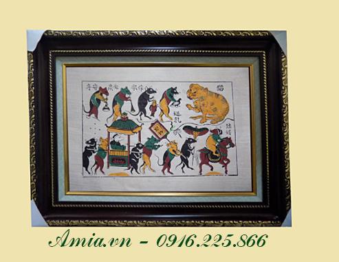 tranh dam cuoi chuot co y nghia sau sac cung gia tri nhan van