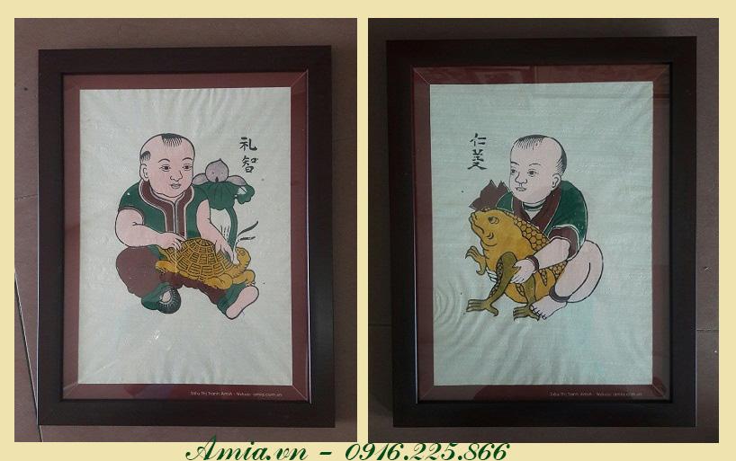 tranh le tri nhan nghia cau chuc nam moi phat tai phat loc