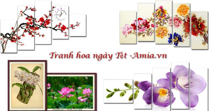 tranh hoa lam qua tang tet cho gia dinh