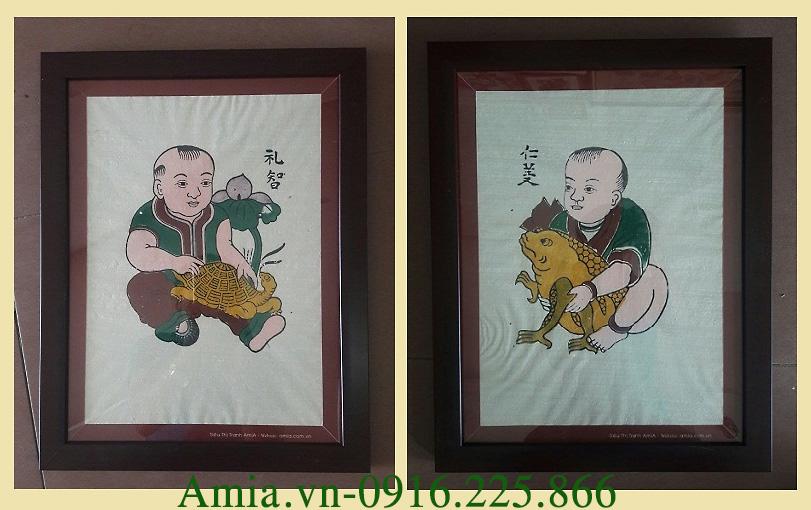 tranh tet mau tuat le tri nhan nghia