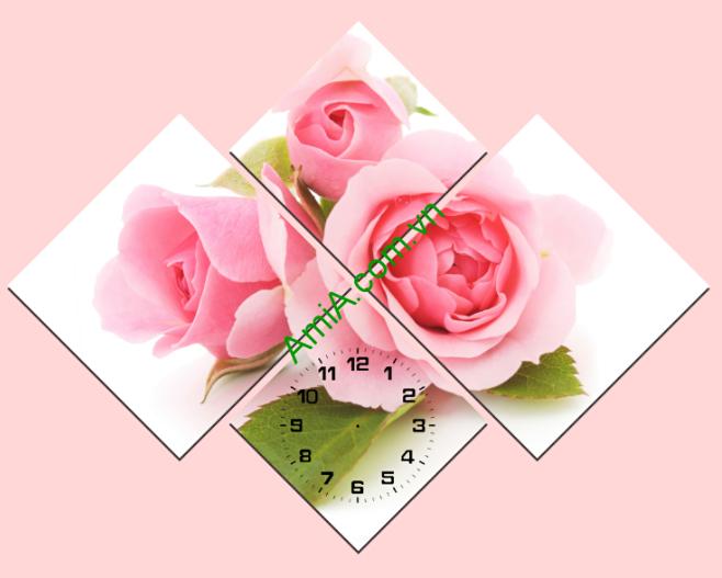 tranh ghep cach dieu hoa hong trong phong ngu