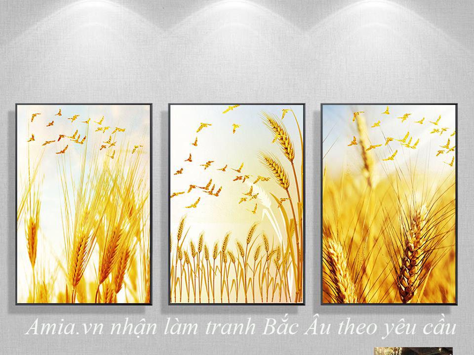 tranh bong lua treo tuong bac au