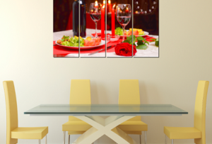5. Tranh phòng ăn