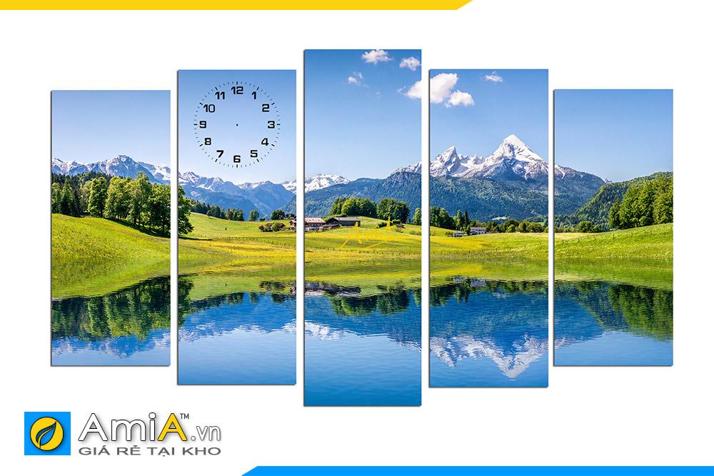 Hình ảnh Bộ tranh phong cảnh thiên nhiên núi non đẹp AmiA 176