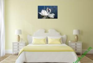 Treo tranh trang trí phòng ngủ