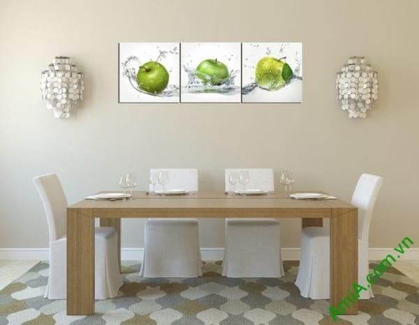 Hình ảnh mẫu tranh treo tường phòng ăn