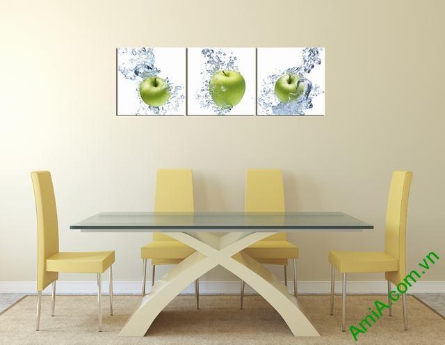 Mẫu tranh đẹp treo phòng ăn nhà bếp