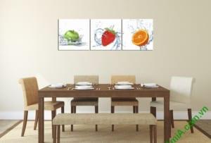Mẫu tranh phòng ăn đẹp