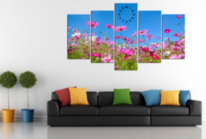tranh phong cảnh mùa xuân hoa nở