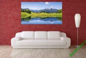 Hình ảnh tranh phong cảnh sơn thủy đẹp