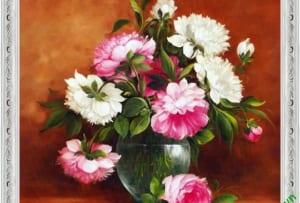 Hinh anh tranh hoa mau don dep