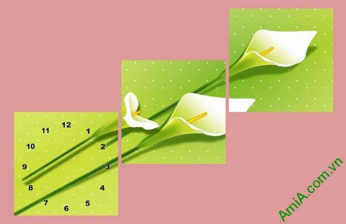 tranh trang tri dep hoa zum nghe thuat