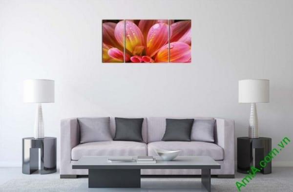 tranh treo tuong khach san hoa thuoc duoc