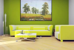tranh phong canh hang cay in canvas