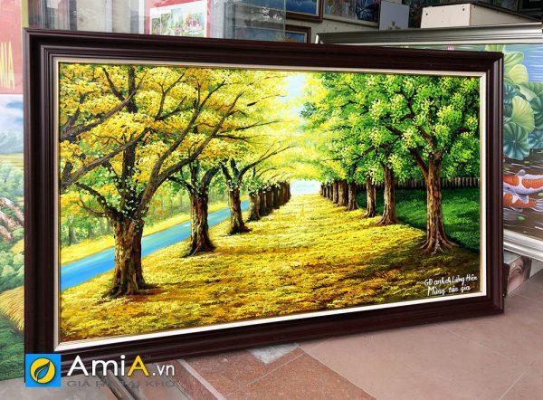 Hình ảnh AmiA TSD 383 chụp thực tế tại cửa hàng tranh AmiA
